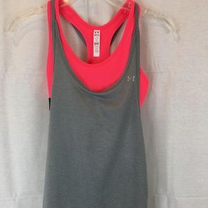 Under Armour  running tank with sports bra